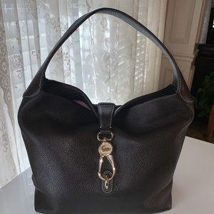 Dooney & Bourke Belvedere Lock Logo Shoulder bag